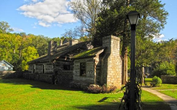 Spring Mill State Park village