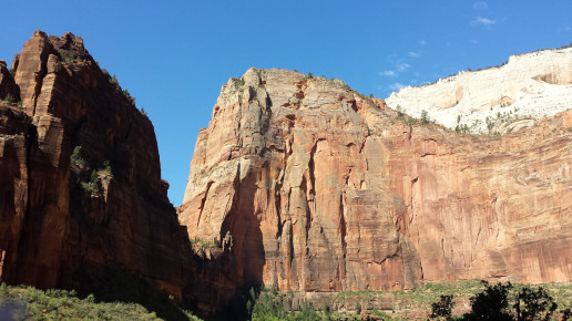 Looking South at Angel's Landing, Zion National Park