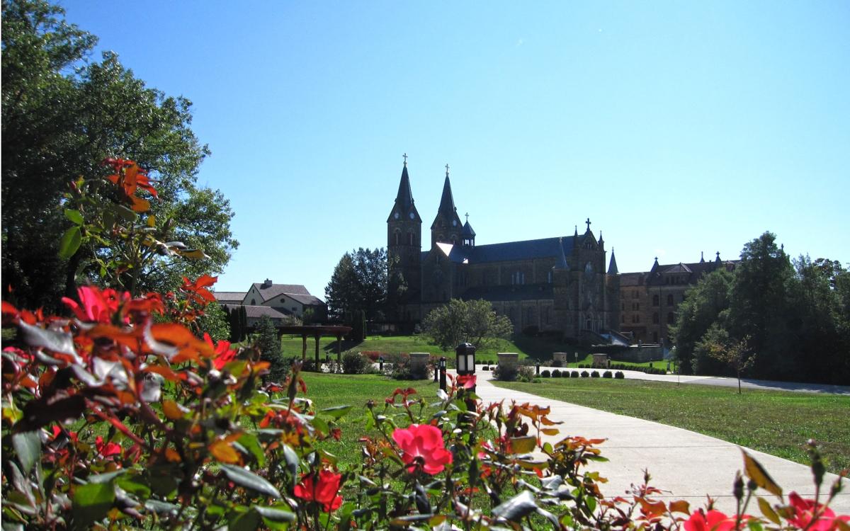 Path to Saint Meinrad
